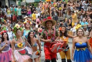 carnaval turistas